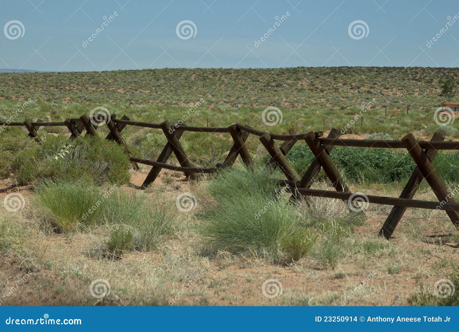 Frontière de sécurité de ranch