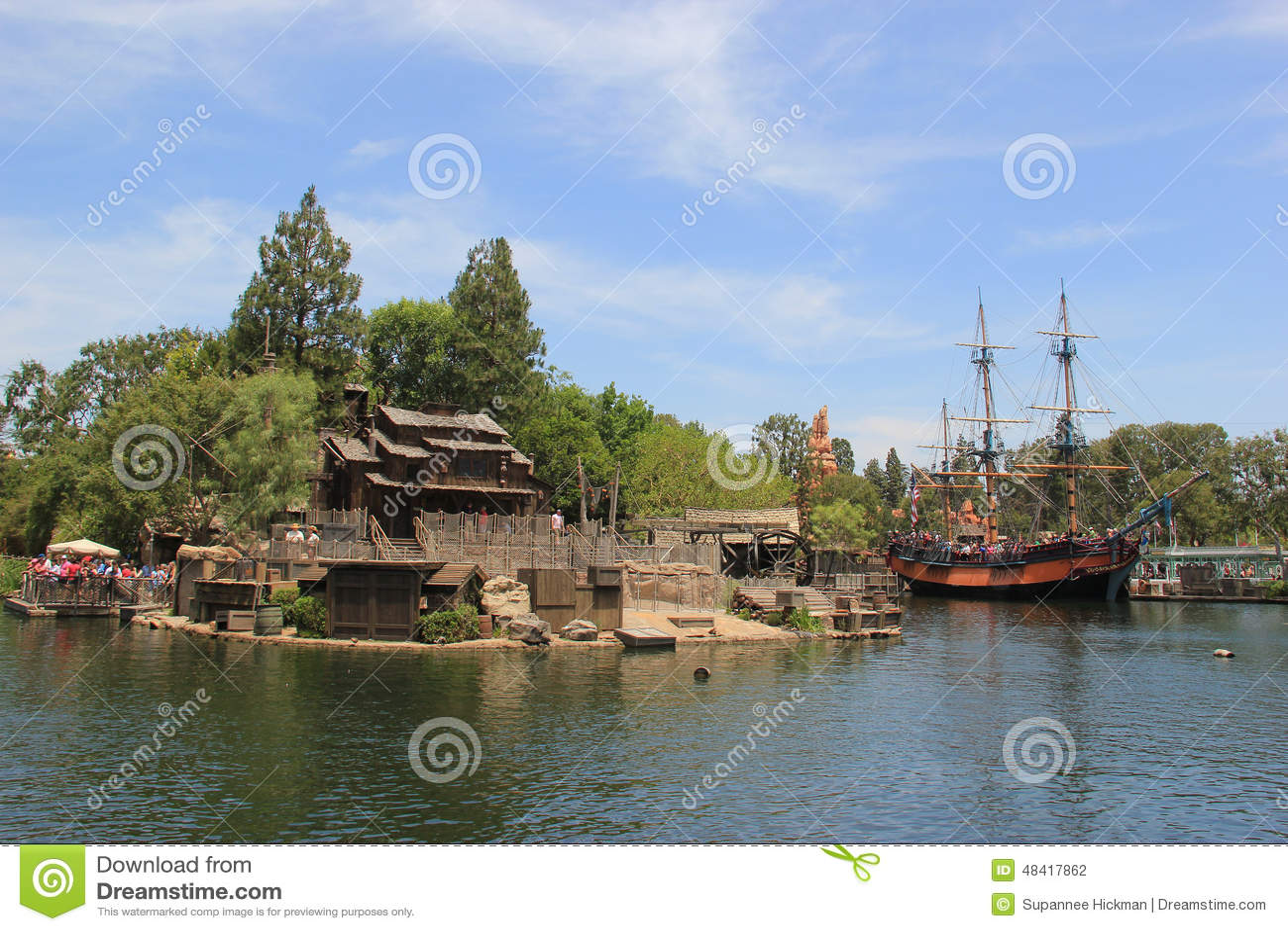 Frontierland på Disneyland