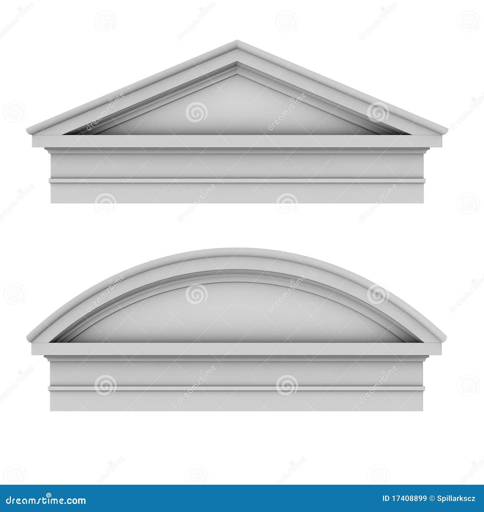 Frontoni toscani romani di architettura classica 3d for Programmi 3d architettura
