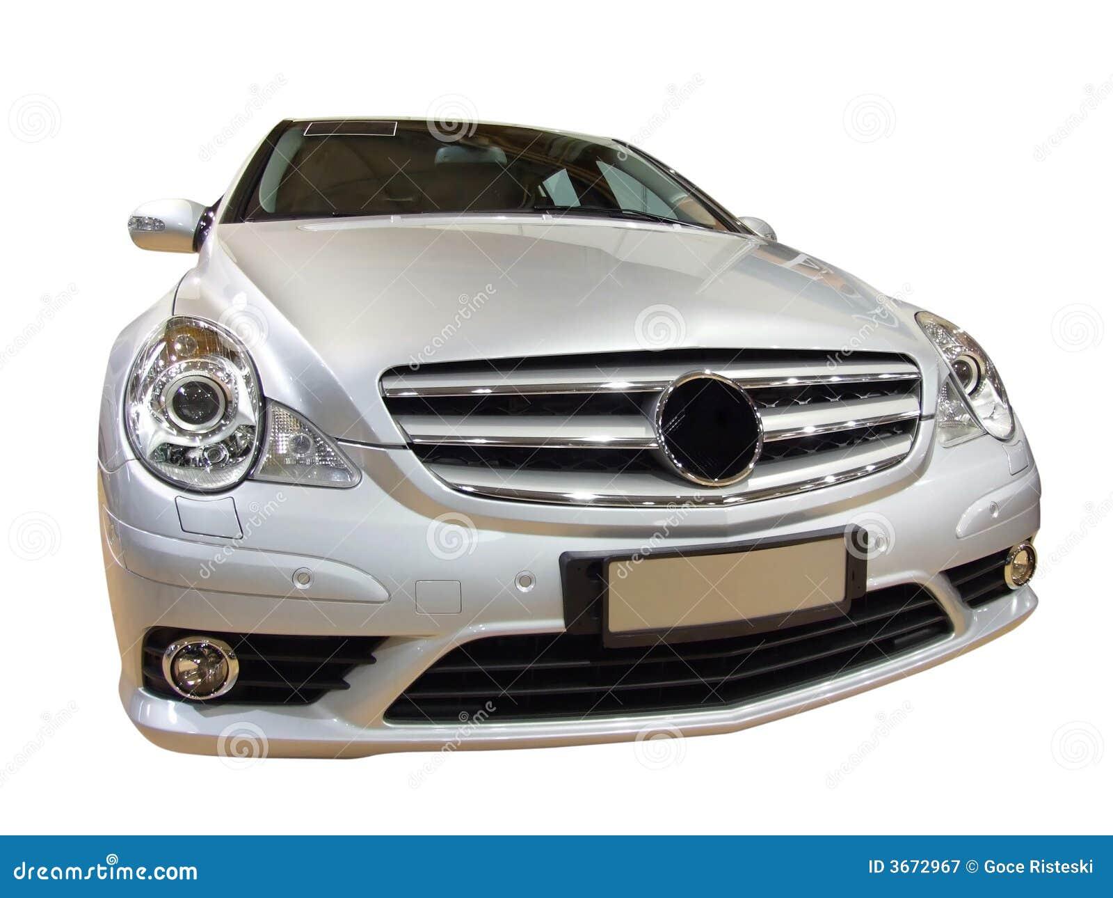 Frontseite des Luxuxautos