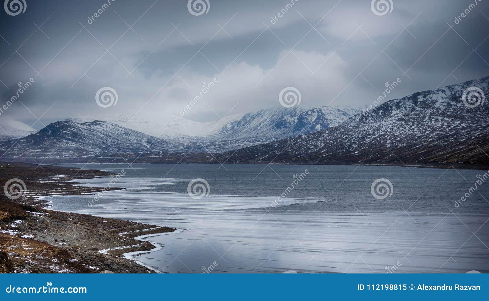 Frost sjö