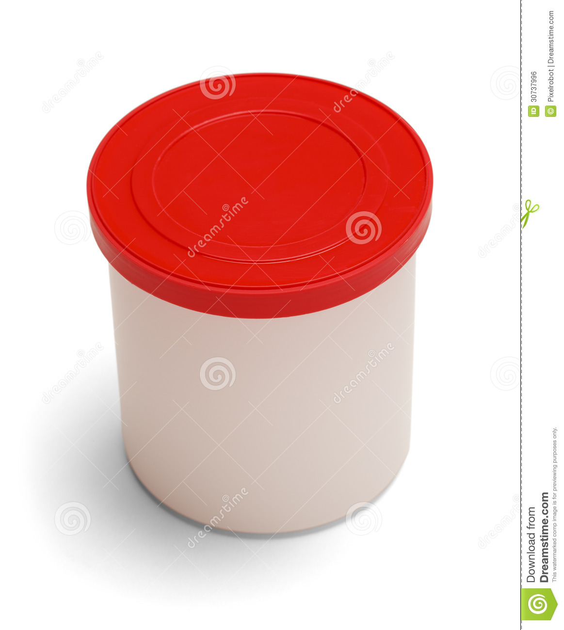 Frosting Container stock photo. Image of name, merchandise ...