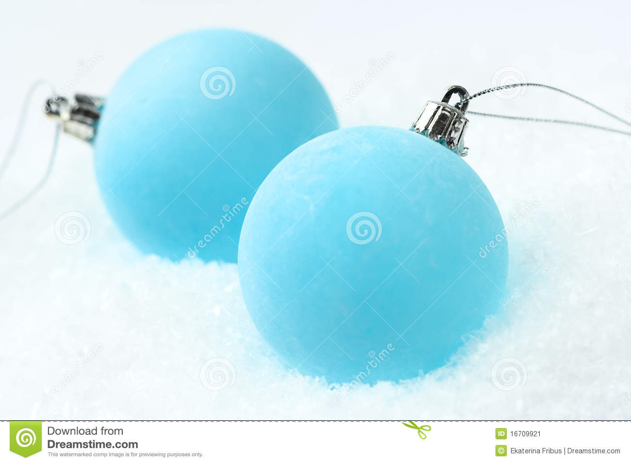 frosty blue christmas baubles - Frosty Blue Christmas Decorations