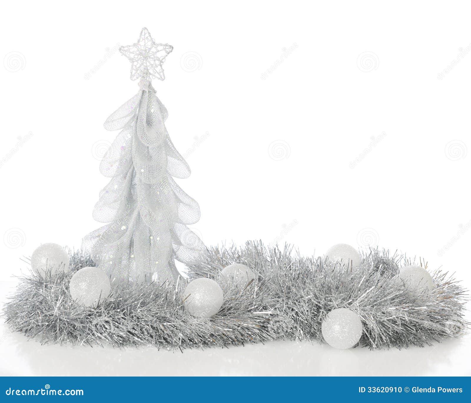 Frosty Christmas Tree
