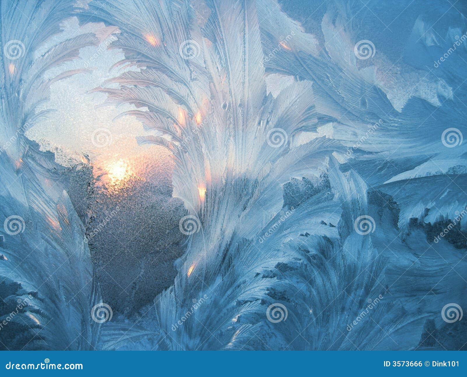 Frosty natural pattern #3