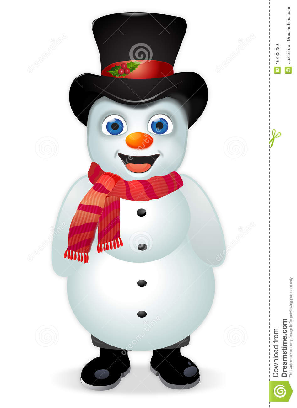 Frosty The Snowman Royalty Free Stock Images - Image: 16432289