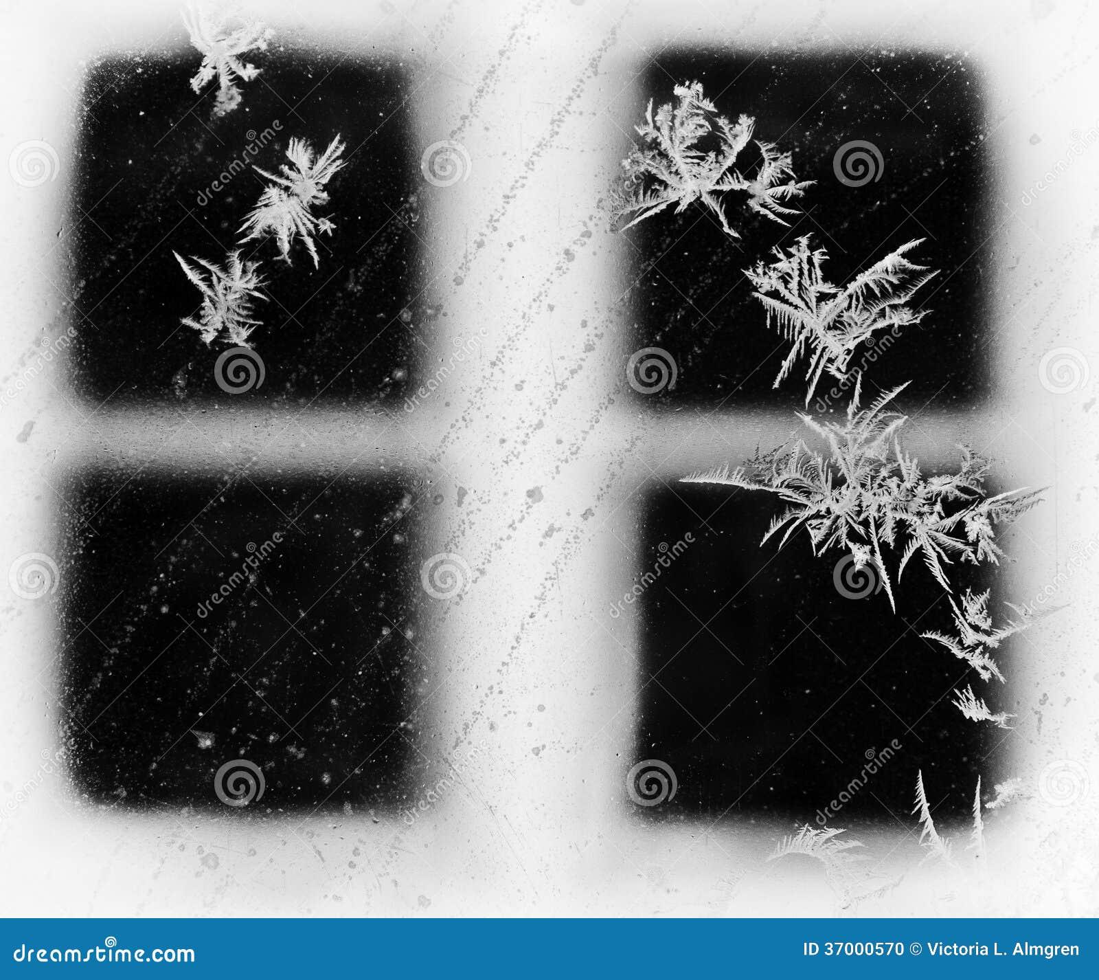 Frosty Winter Window