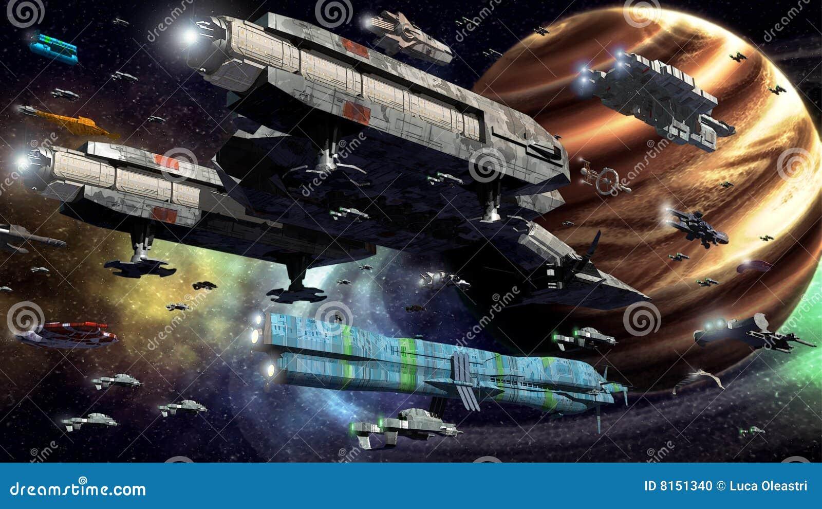 Frota do espaço