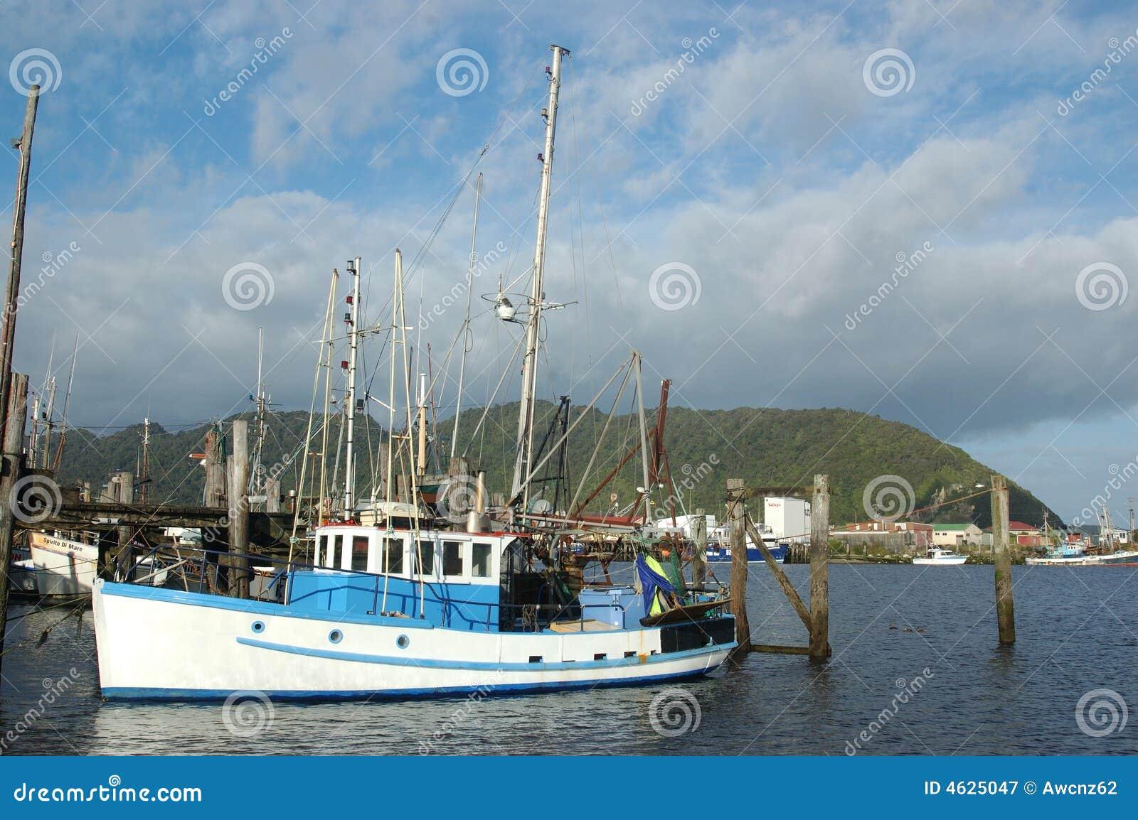 Frota pesqueira de Greymouth