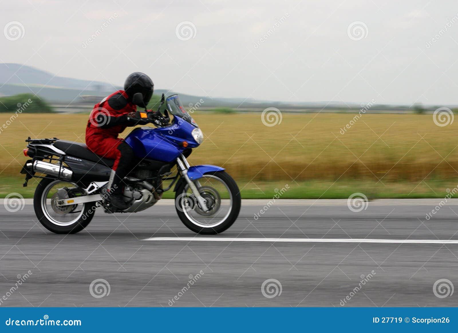 Frottement de motocyclette