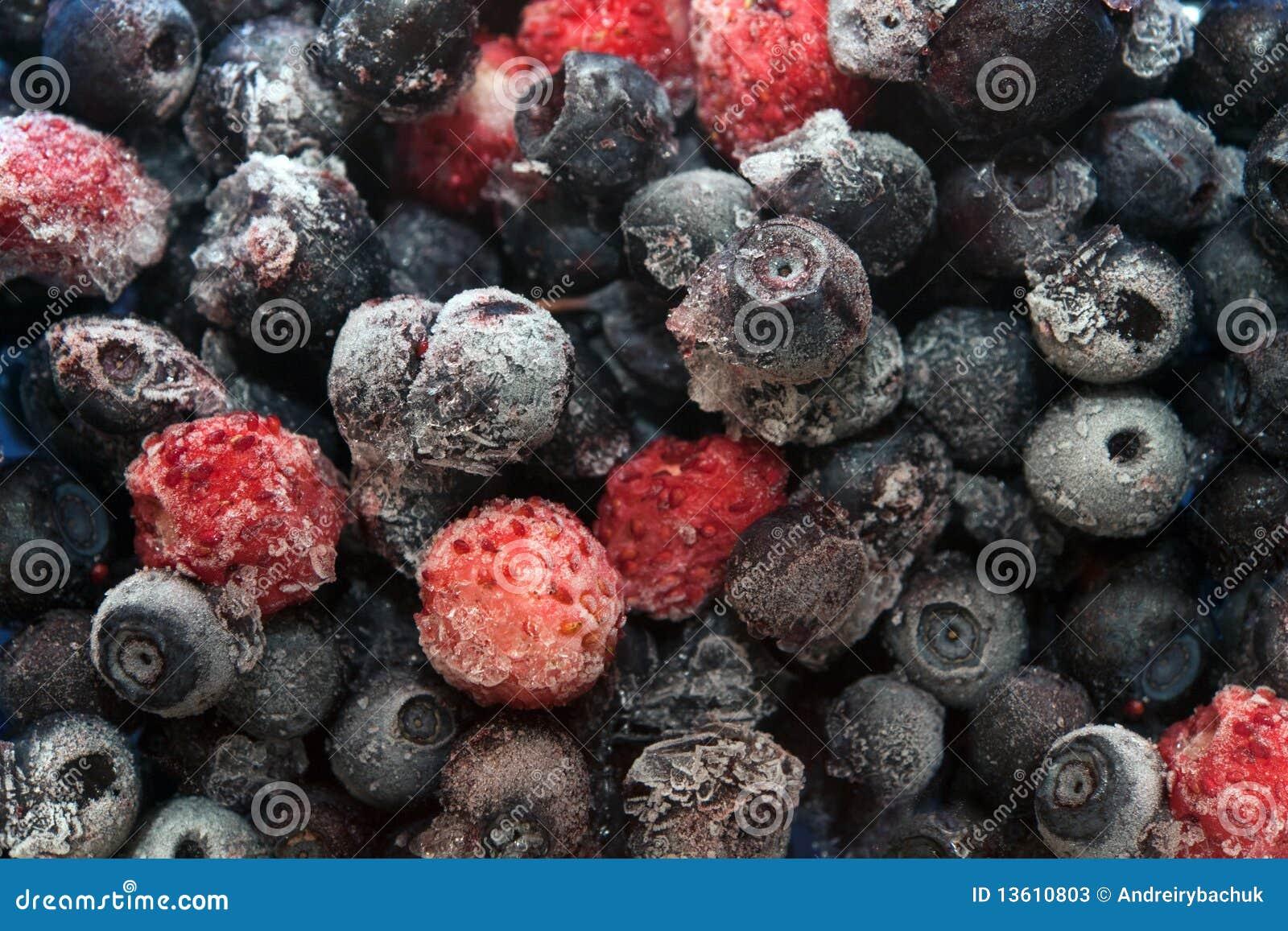 how to serve frozen berries