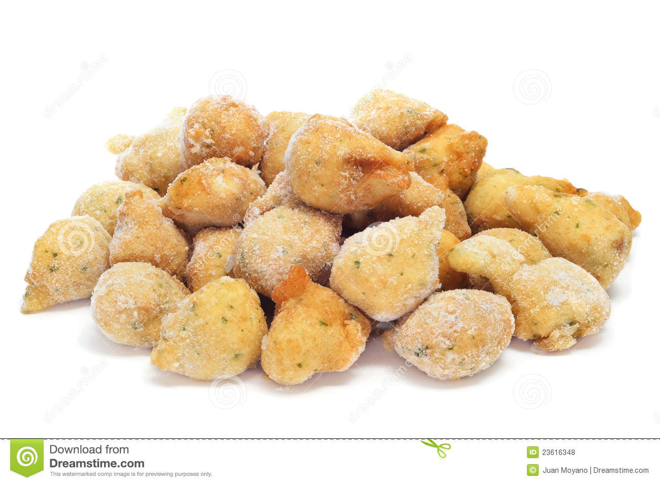 Frozen cod fritters royalty free stock photos image for Cod fish fritters