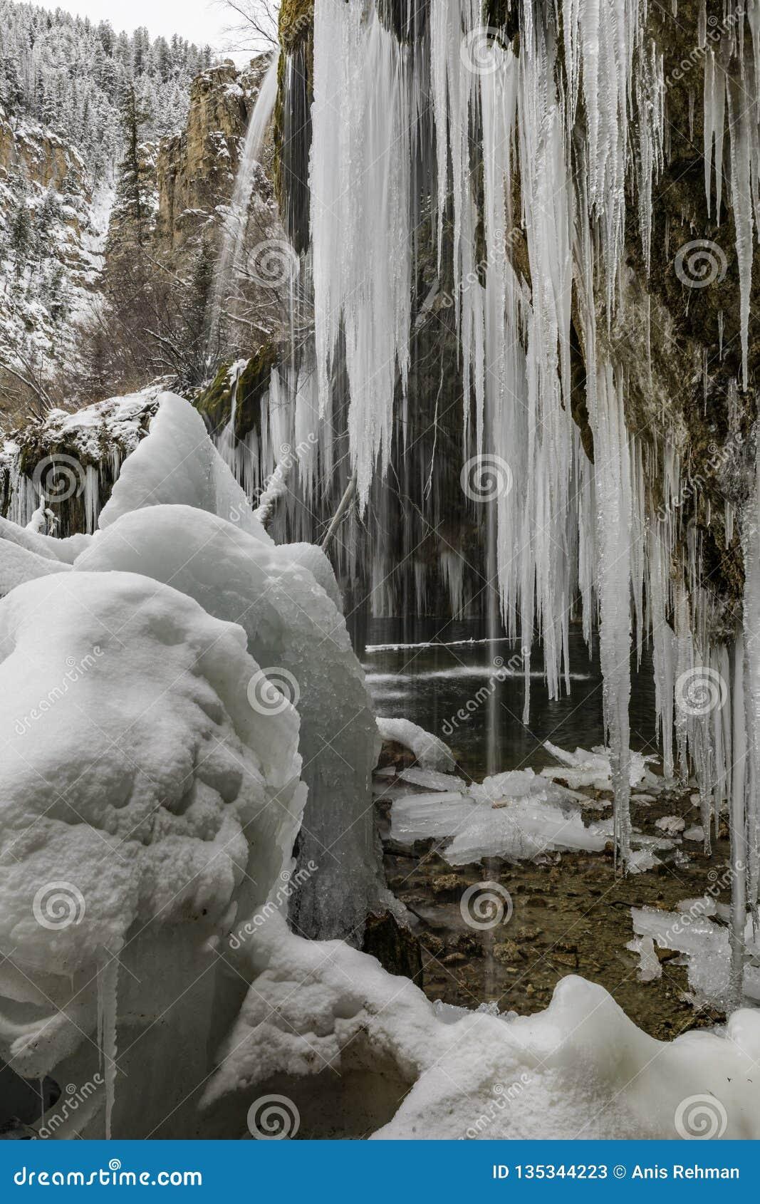 Frozen, colorado, hiking, travel, usa, winter, snow