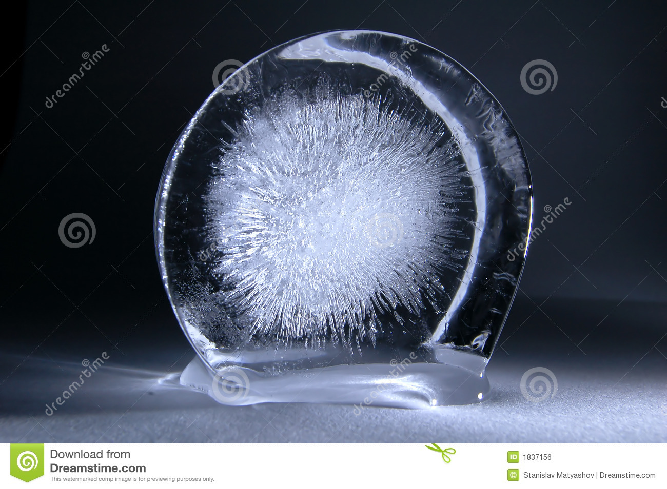 Frozen Explosion Royalty Free Stock Image