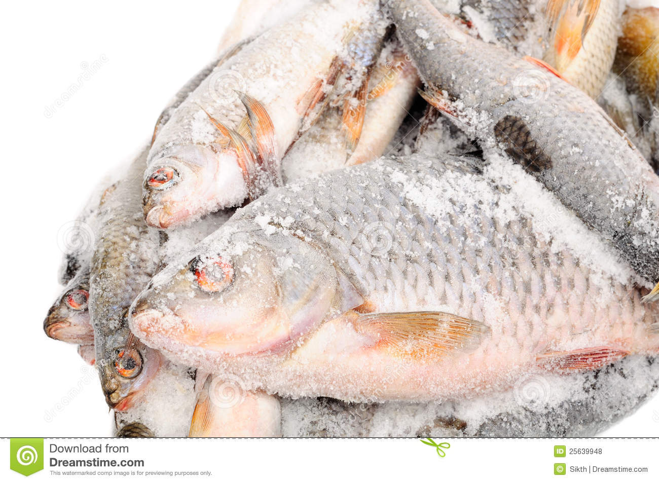 Frozen fish stock image 91226383 for Best frozen fish to buy at grocery store