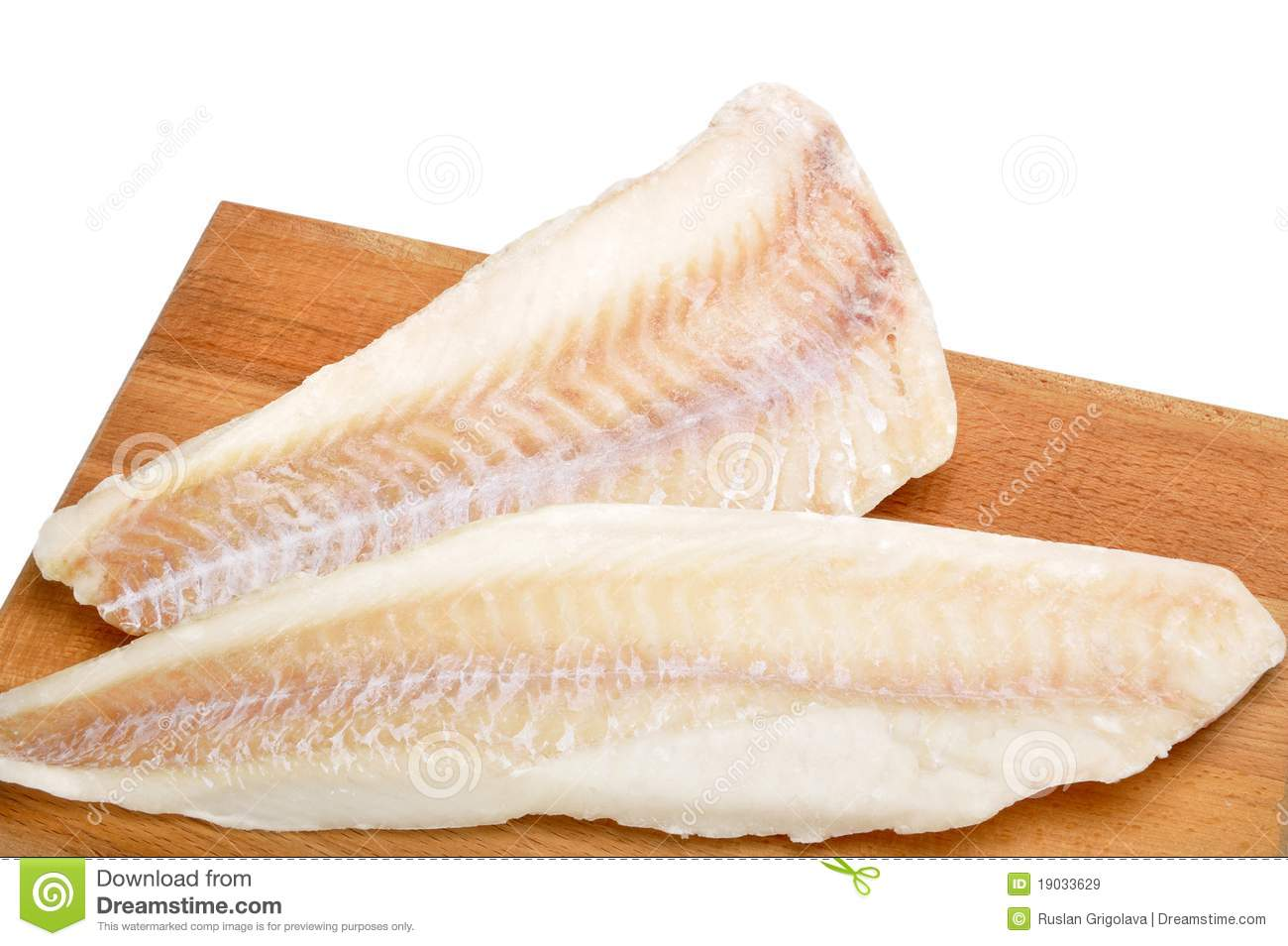 frozen fish fillets royalty free stock images image