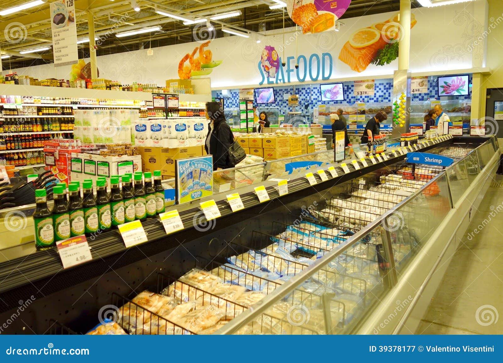 Asian grocery in la
