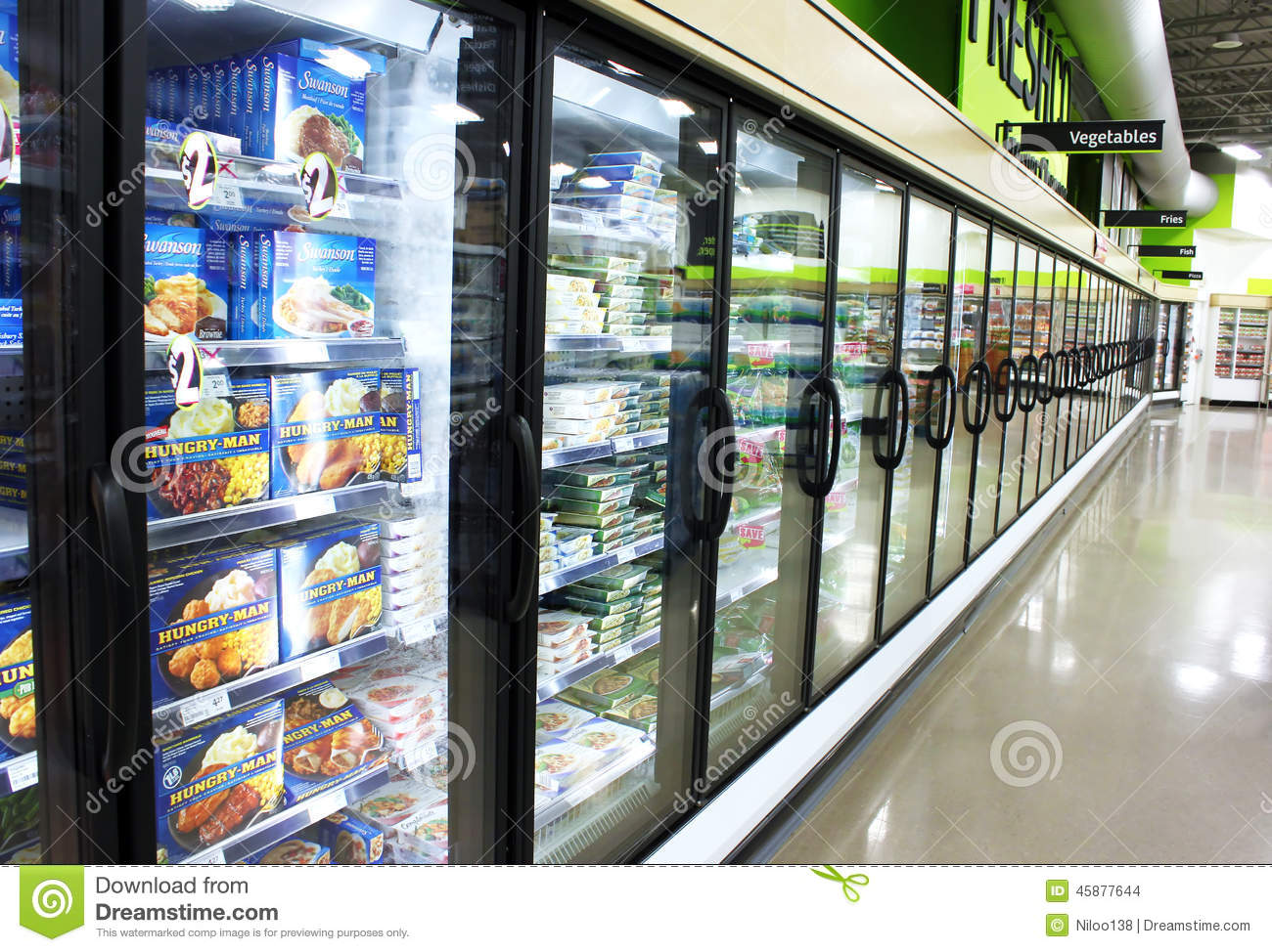 Supermarket foods pictograms vector illustration for Best frozen fish to buy at grocery store