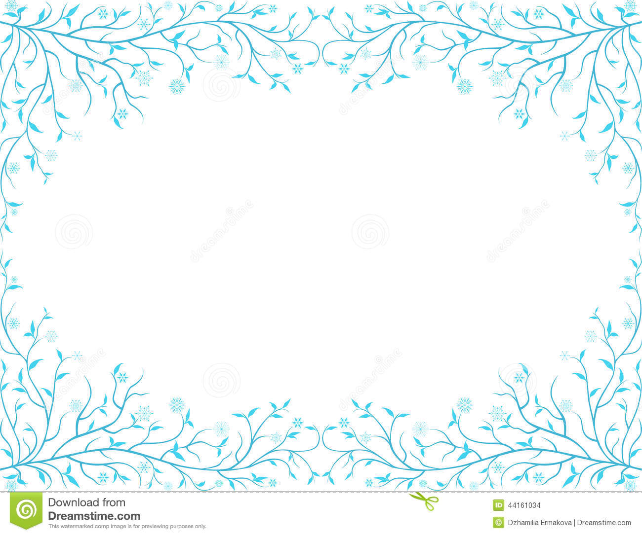 Frozen Frame Illustration 44161034 - Megapixl
