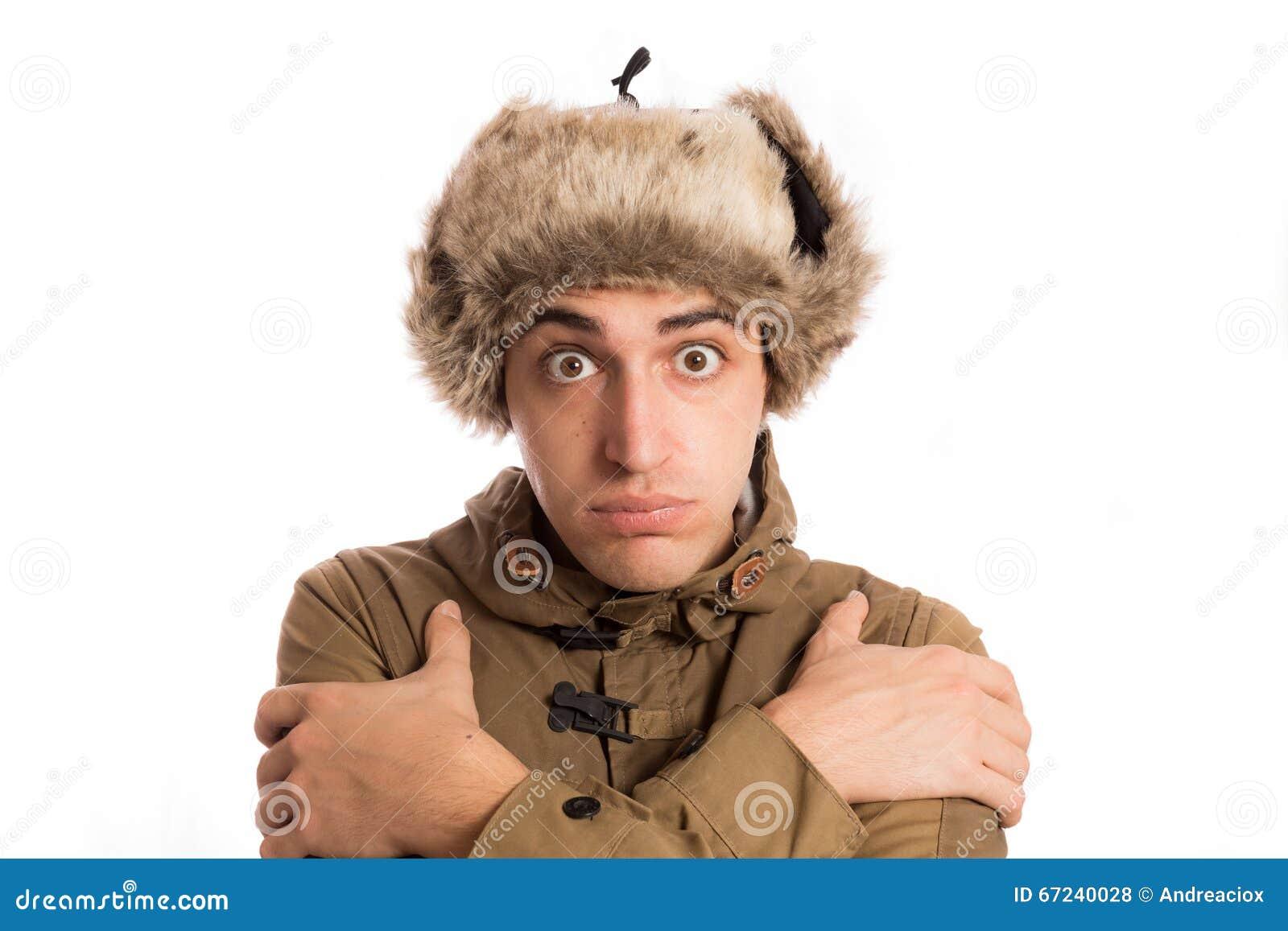 40e2423ec7c Frozen Man With Its Eskimo Hat