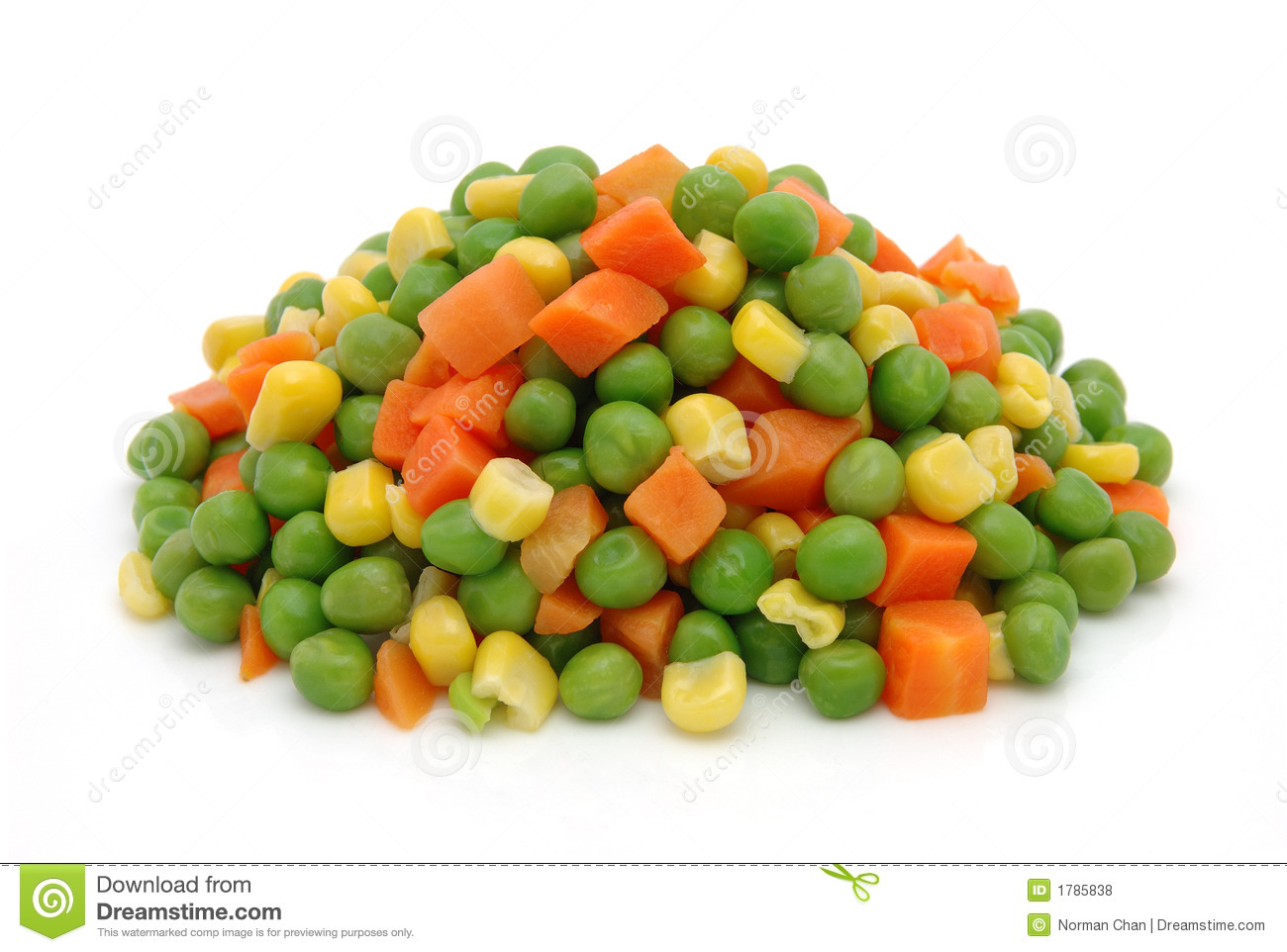 Frozen Mixed Vegetables Royalty Free Stock Photos - Image: 1785838