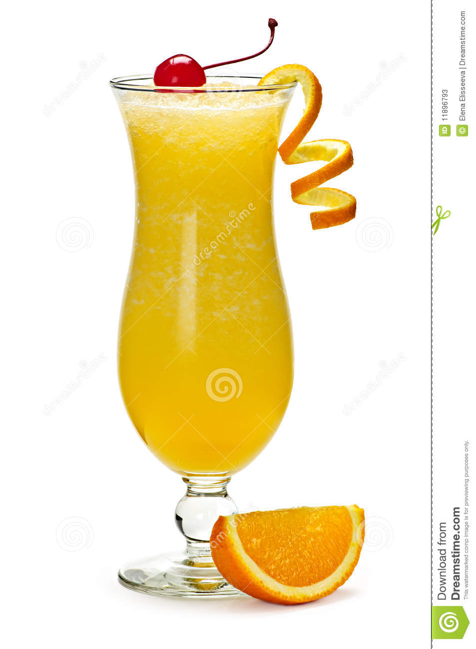 Frozen orange drink stock photos image 11896793 for Cocktail orange