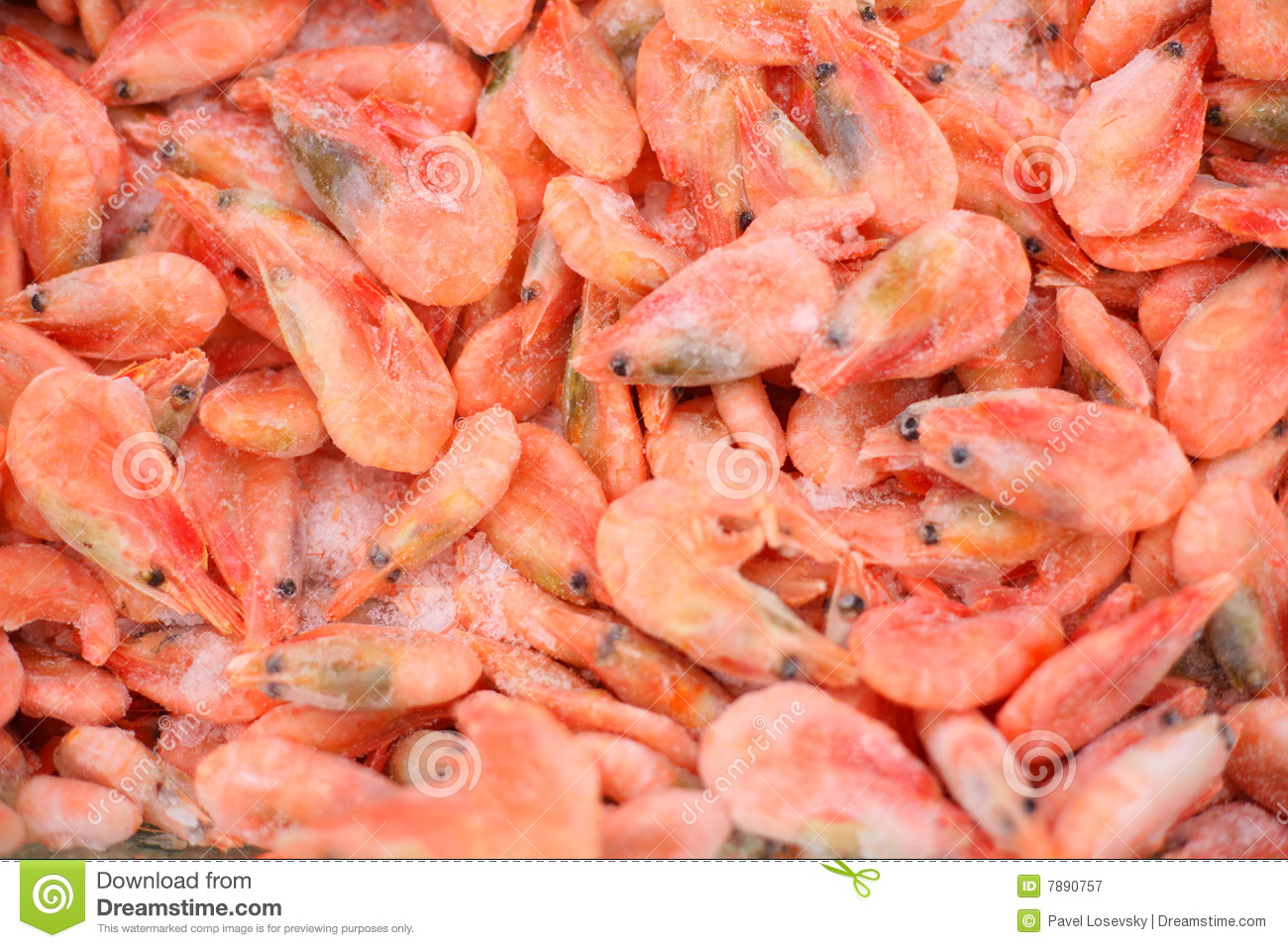 how to clean frozen shrimp