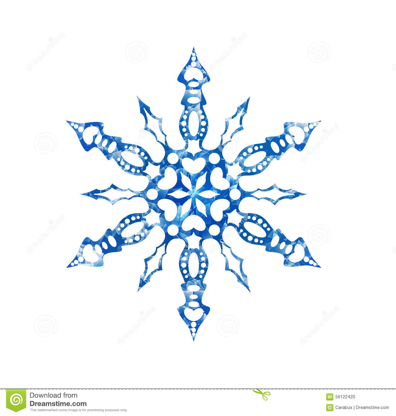 frozen snowflake on white background frozen snowflake for christmas ...