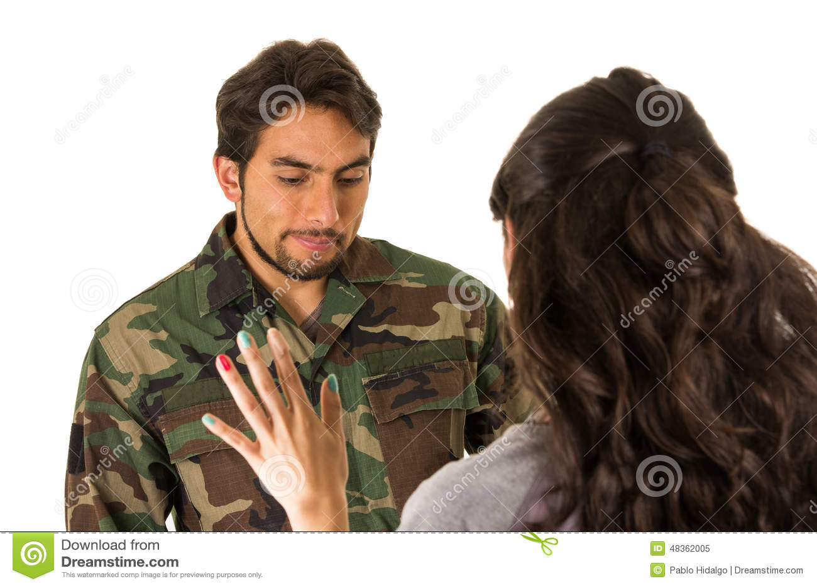 militär fru dating
