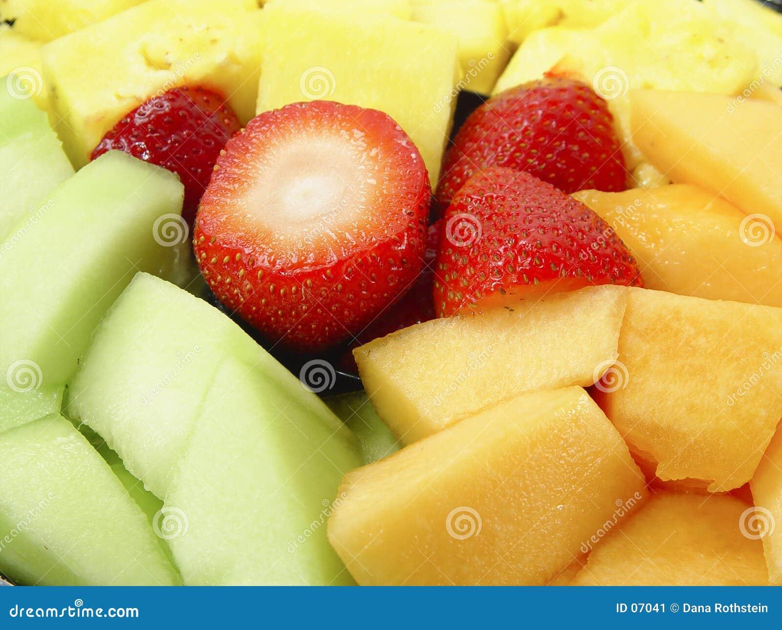 Frucht-Mehrlagenplatte