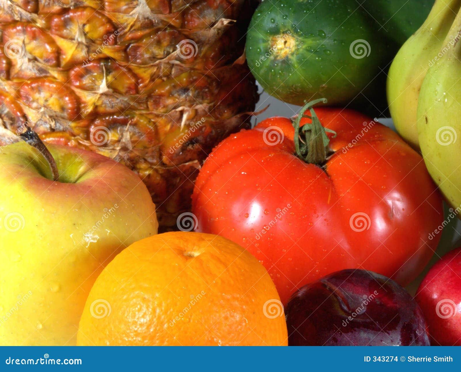 Frucht und veg