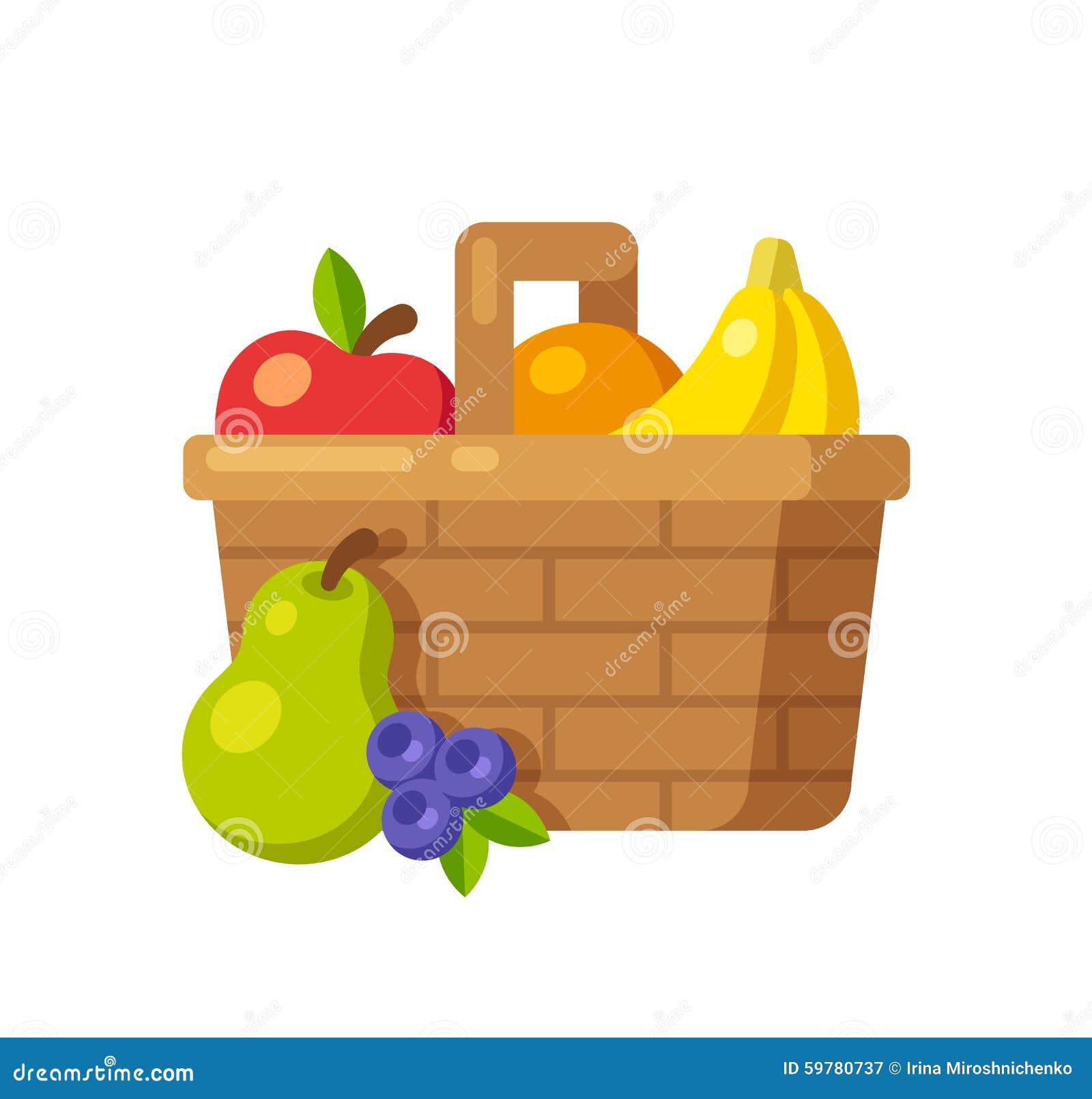 Basket Cartoons, Illustrations & Vector Stock Images