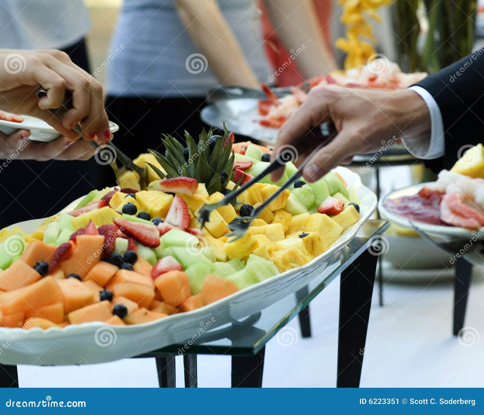 Fruit buffet platter