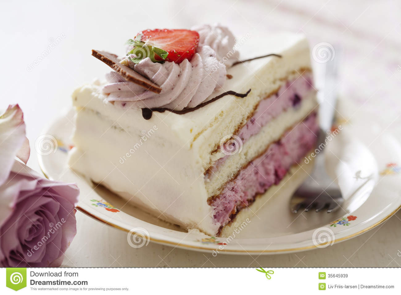 Fruit cake stock image. Image of baking, cake, layered ...