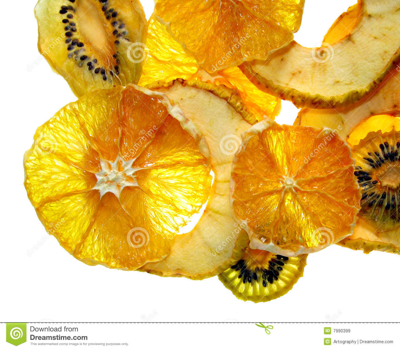 Fruit Chips Royalty Free Stock Images