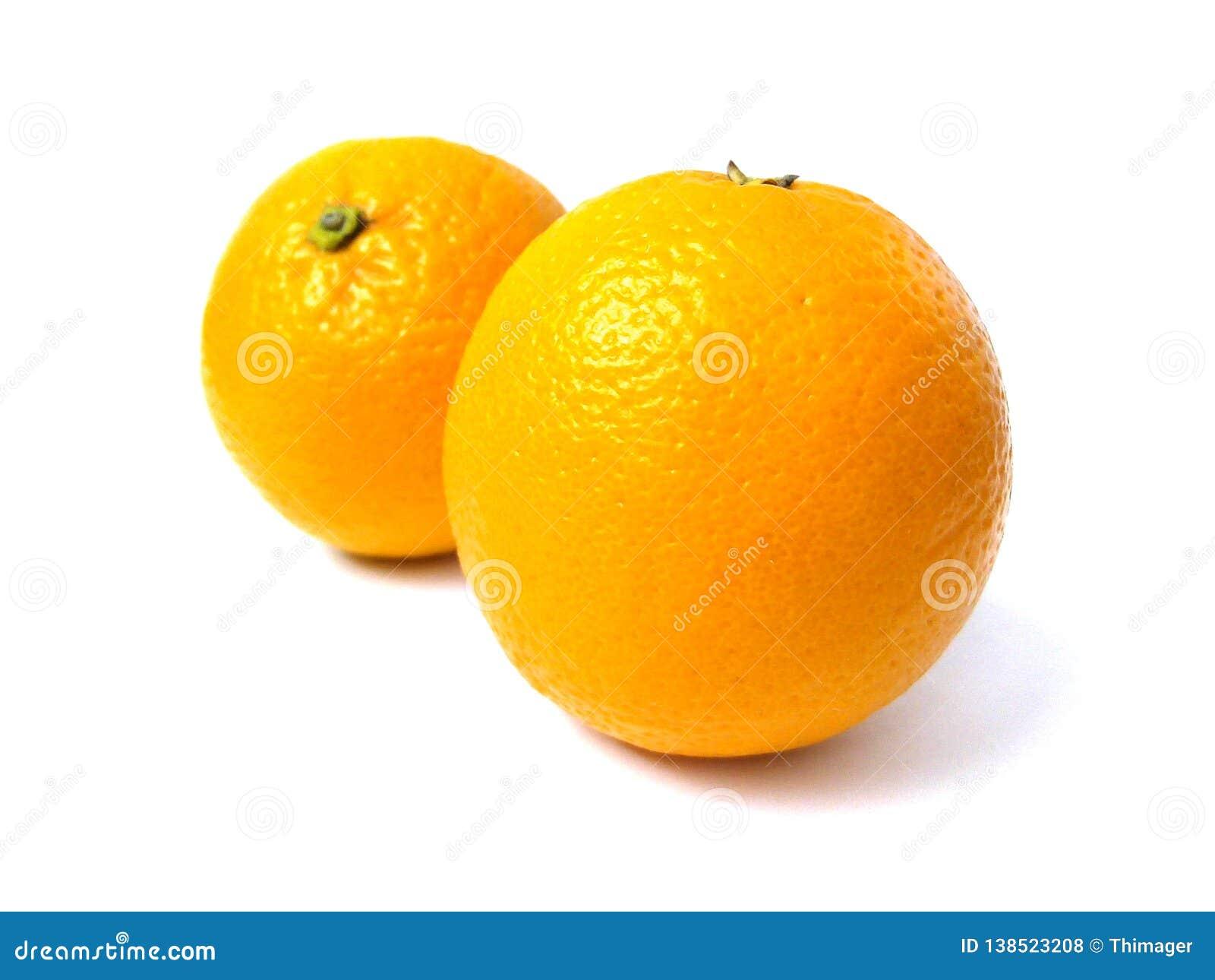 Fruit coloré d orange douce