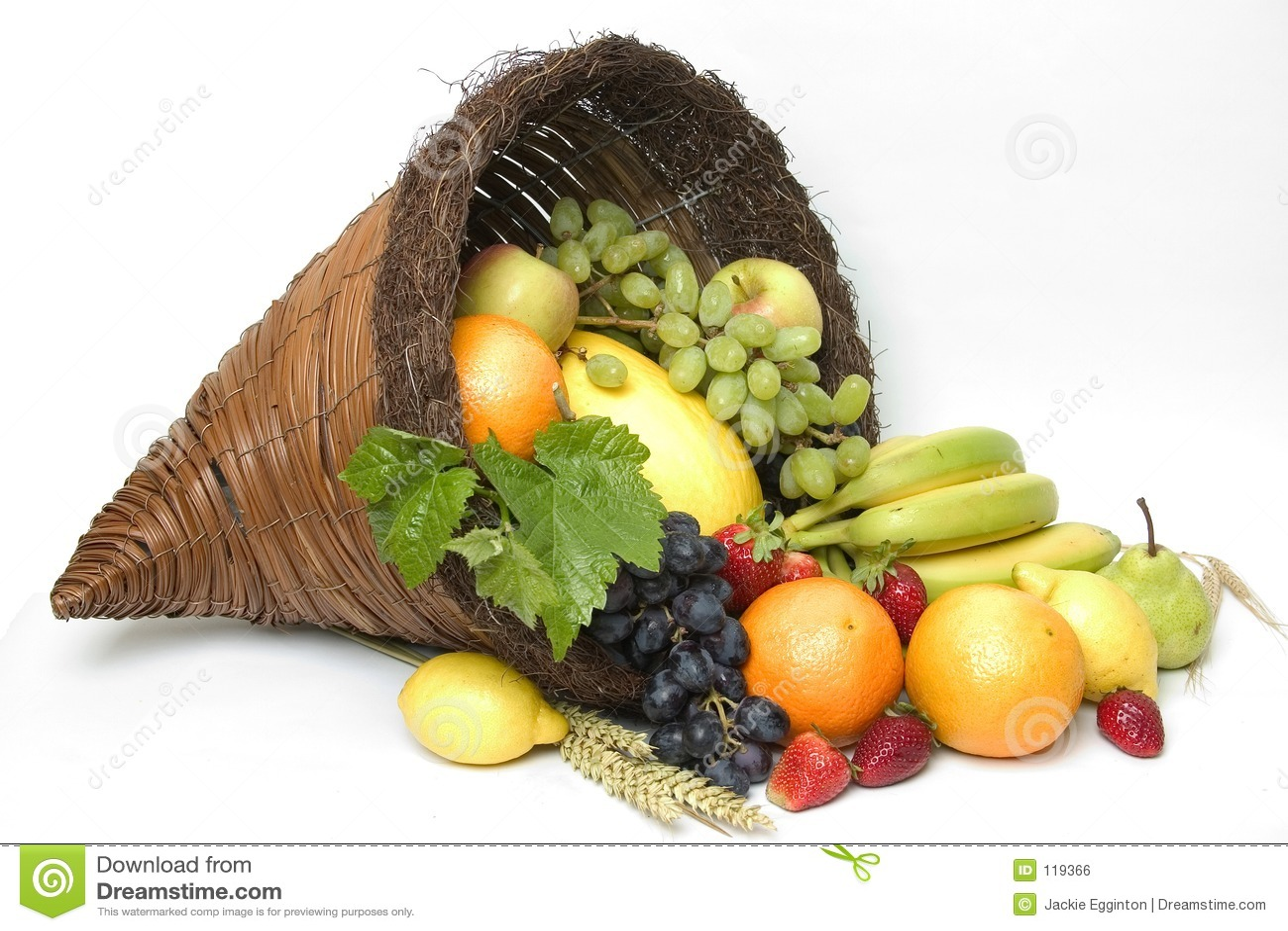 Fruit Cornucopia 4