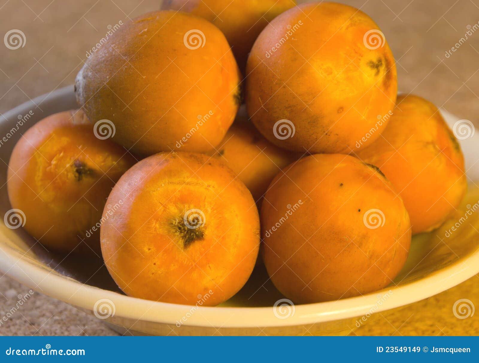 fruit de couleur orange de palmier images libres de droits image 23549149. Black Bedroom Furniture Sets. Home Design Ideas