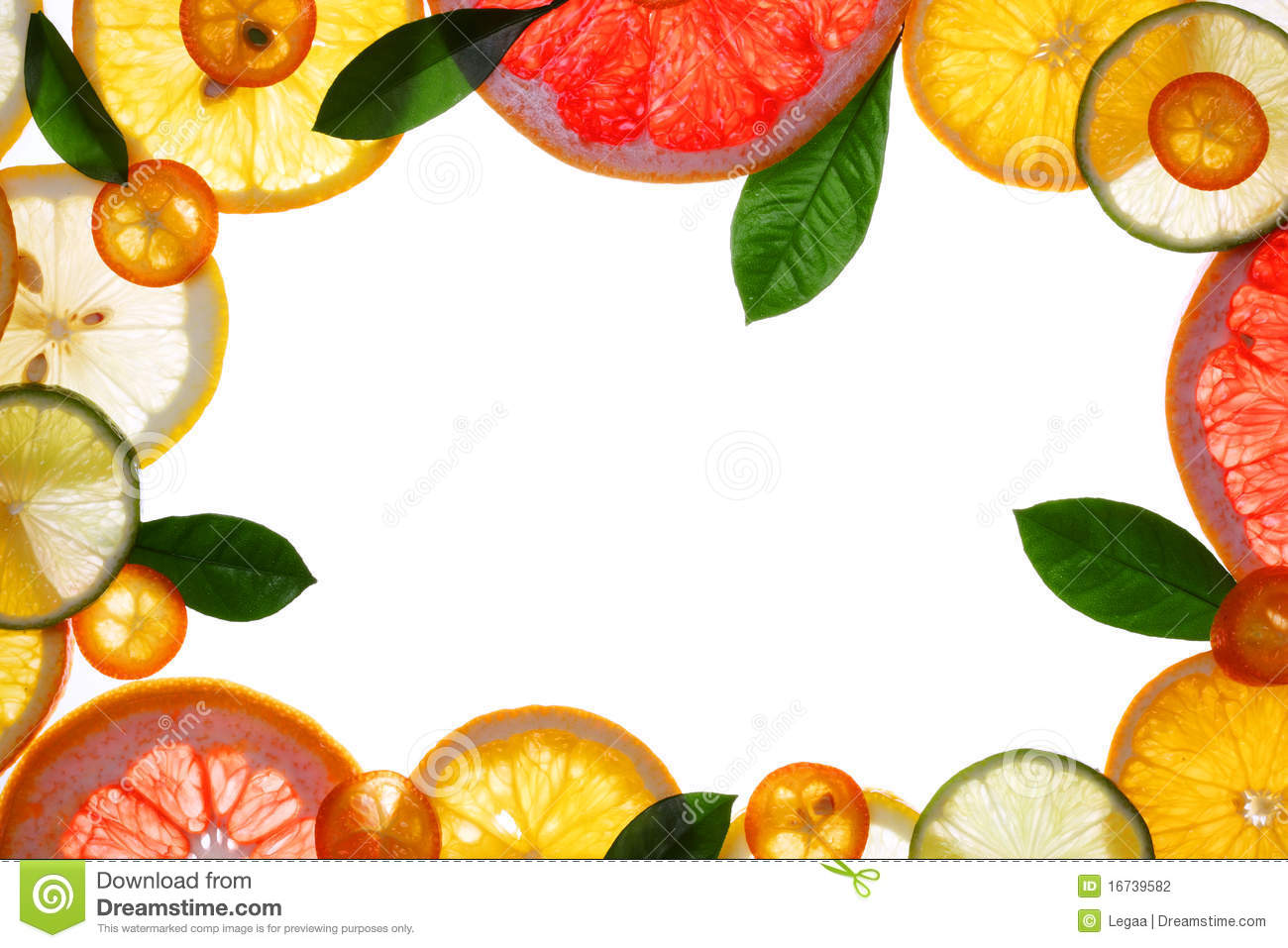 Stock Photography Fruit Design Borders Image16739582 on cartoon ice pops