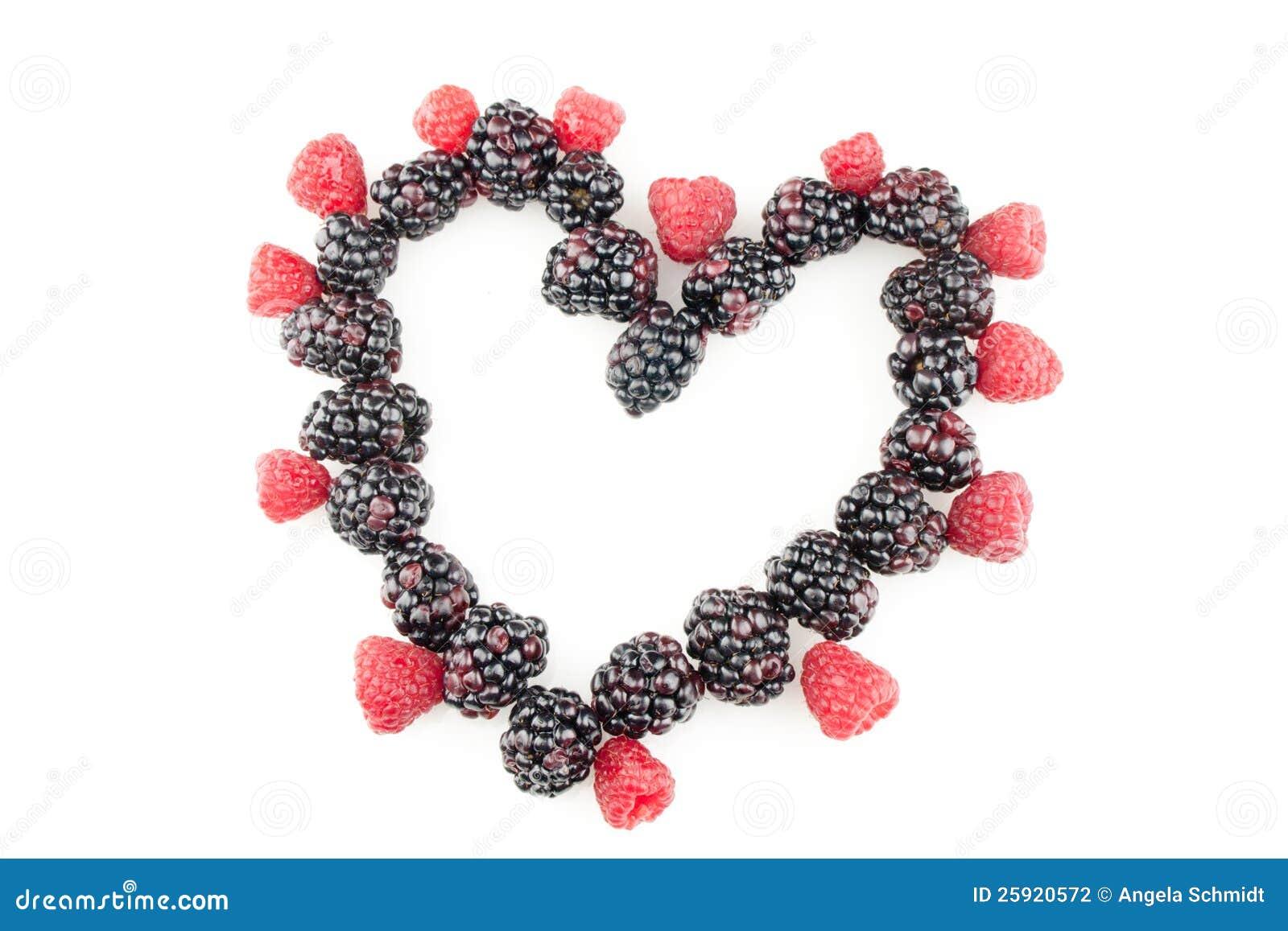 Fruit en forme de coeur photographie stock image 25920572 - Deco en forme de coeur ...