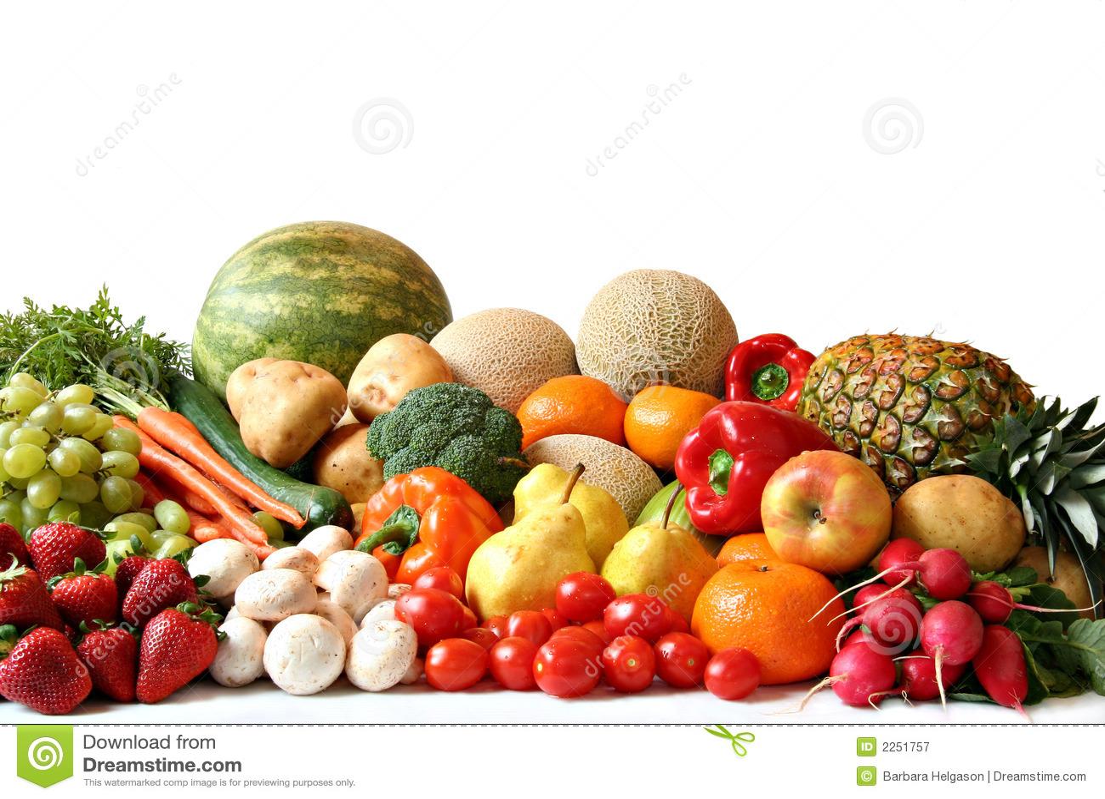 Fruit en plantaardige verscheidenheid