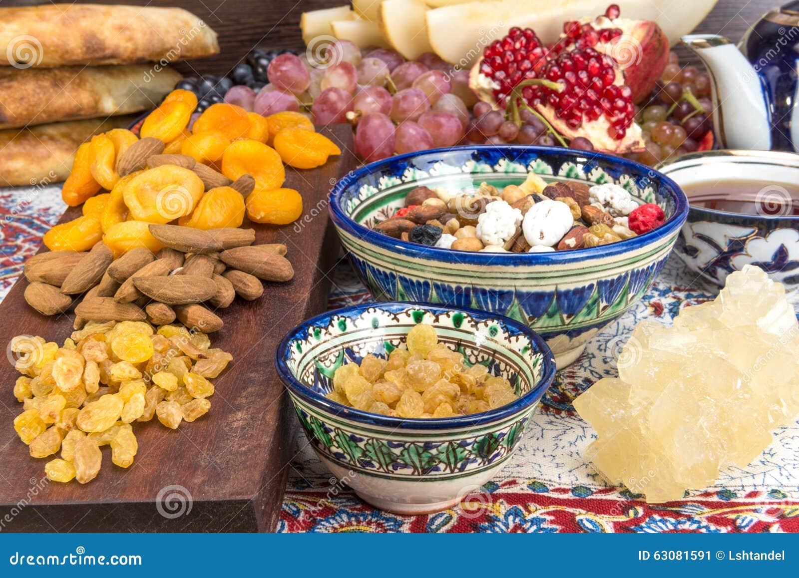 Download Fruit Et Bonbons Asiatiques Centraux Image stock - Image du nourriture, fruits: 63081591
