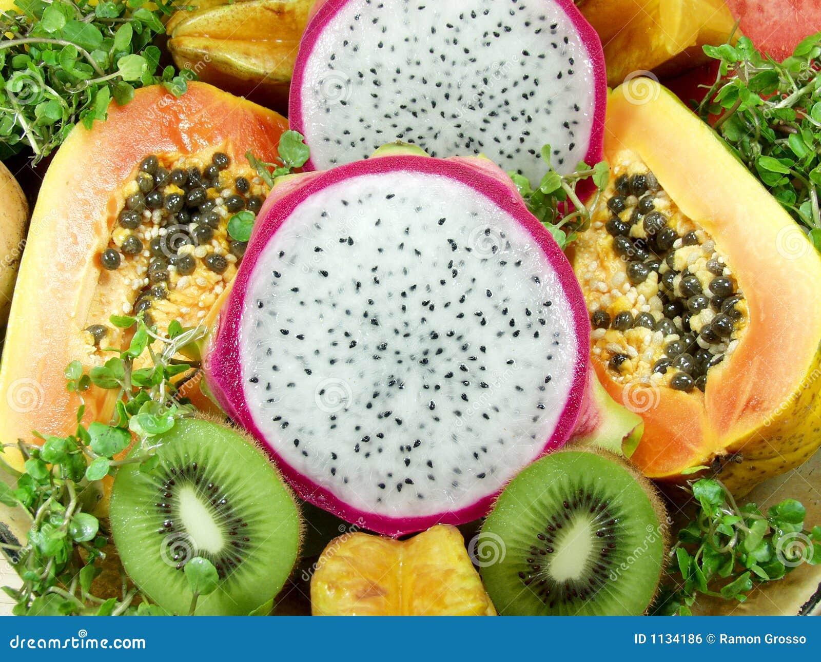 Fruit exotique photo stock image du papaye tropical - Image fruit exotique ...