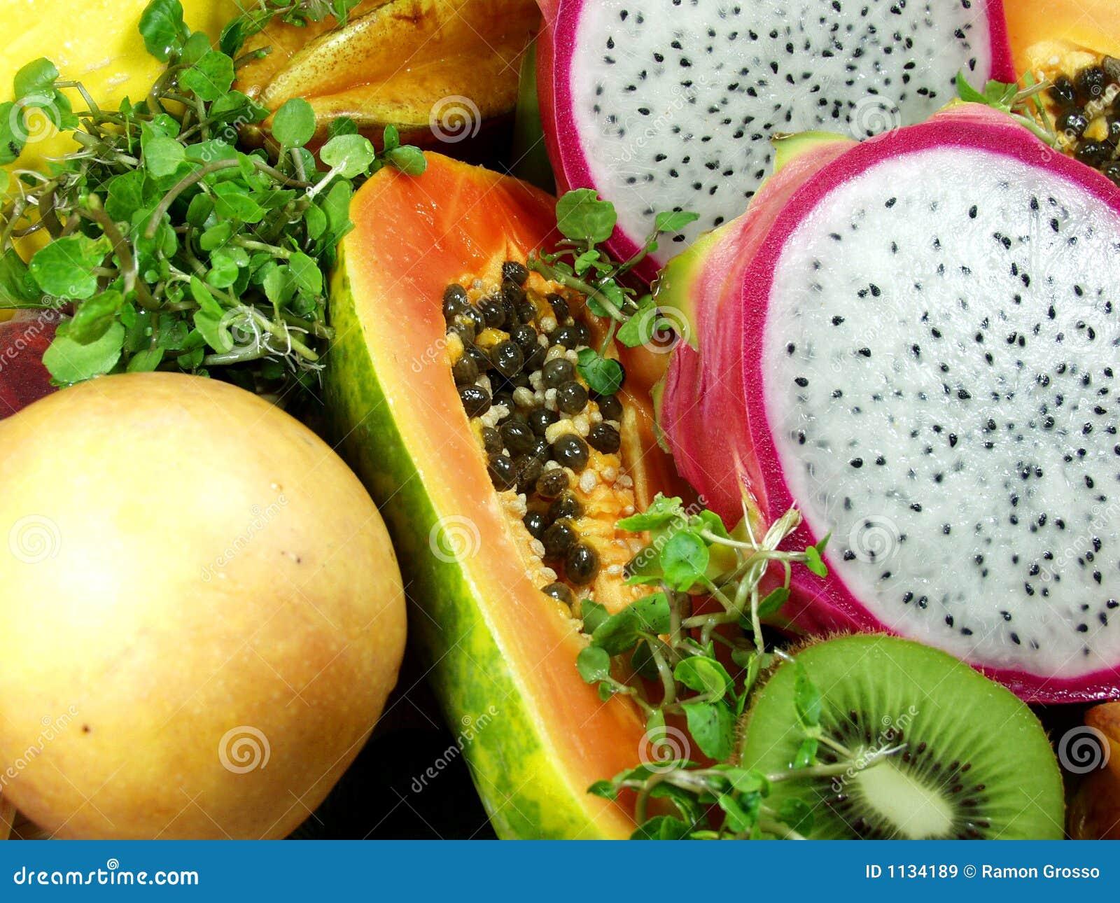 Fruit exotique images libres de droits image 1134189 - Image fruit exotique ...
