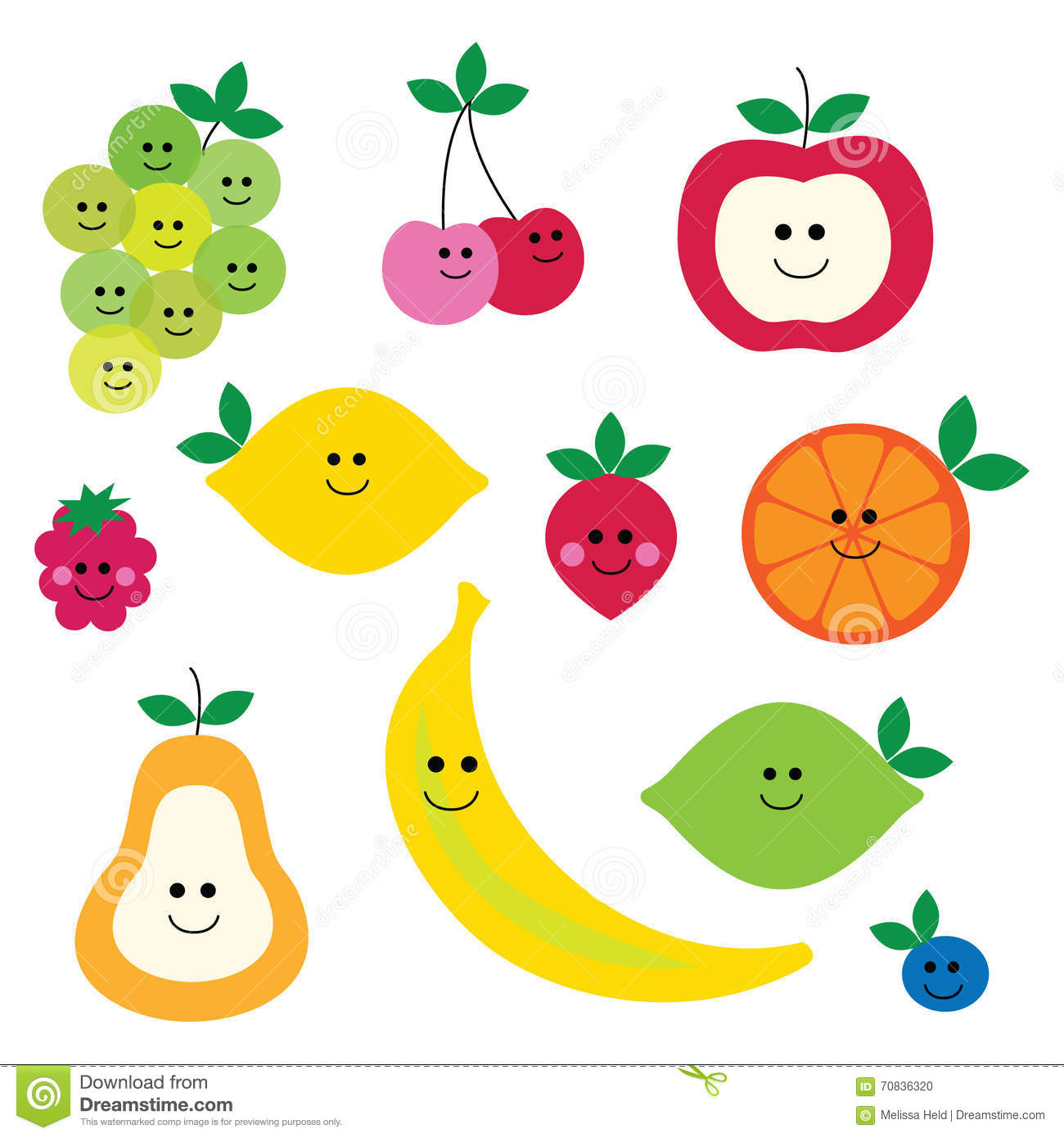 fruit with faces clipart stock illustration illustration Basket of Fruits and Vegetables Fruit Vegetable Horse Clip Art Black and White