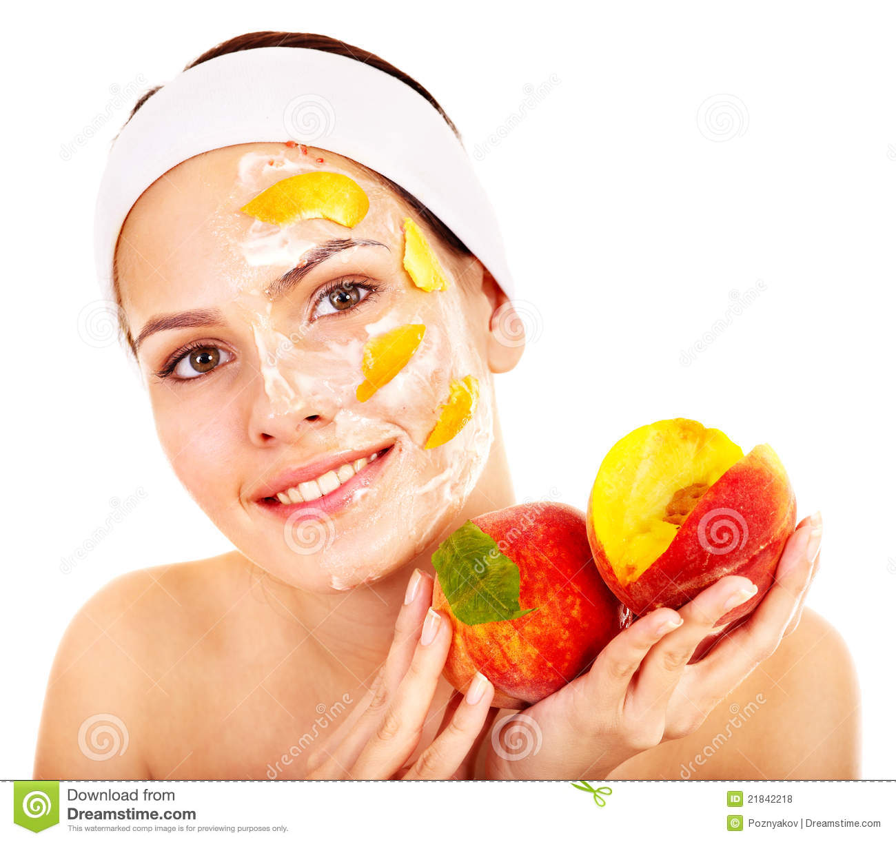 Facial fruit mask excellent