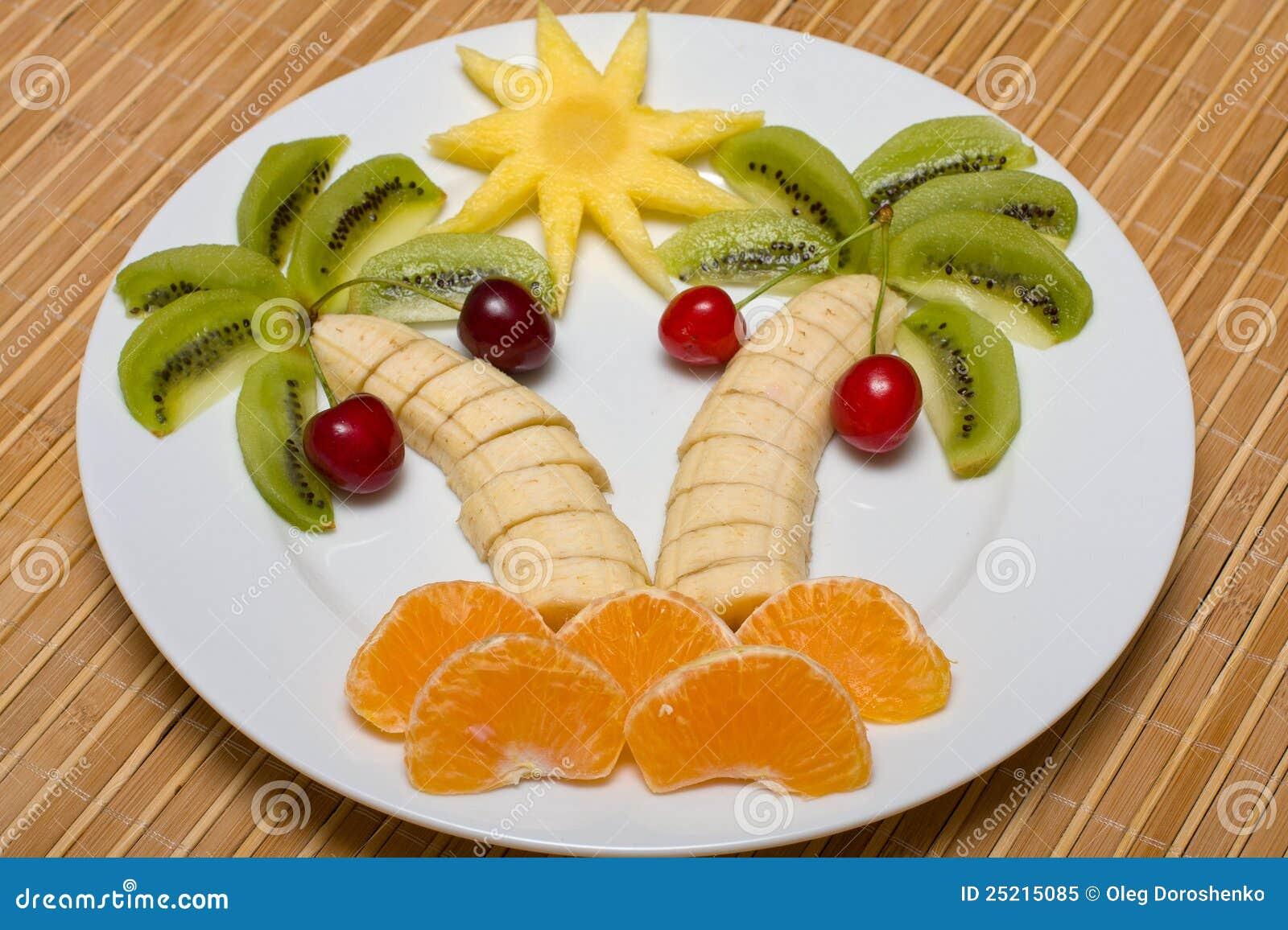 Салат остров с пальмами рецепт