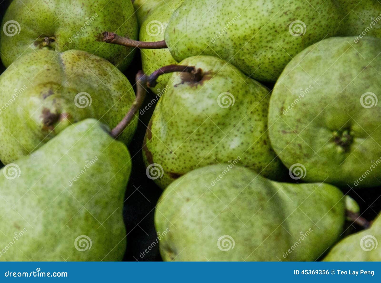 Fruit frais de poire