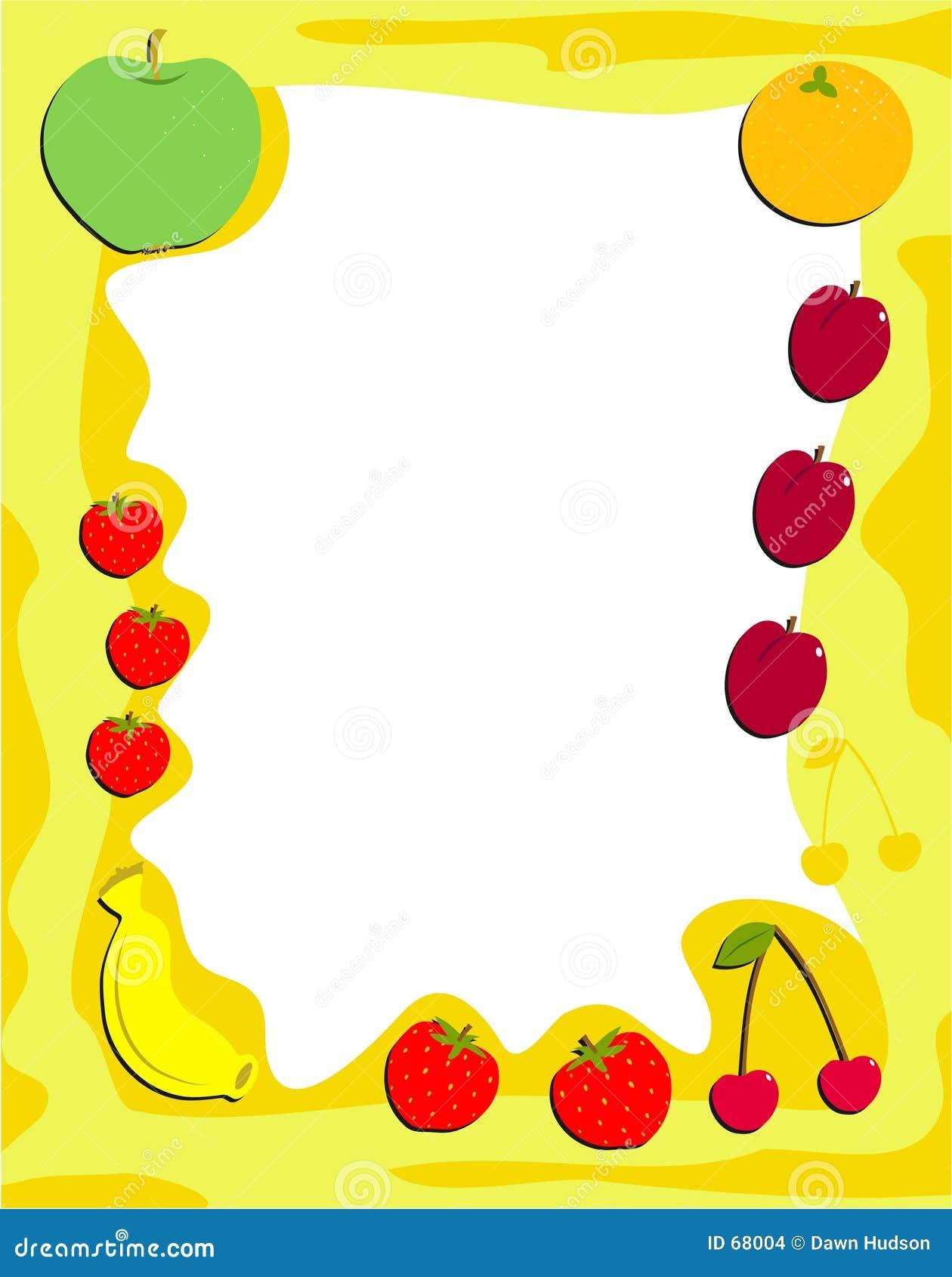 Fruit Frame Stock Images - Image: 68004