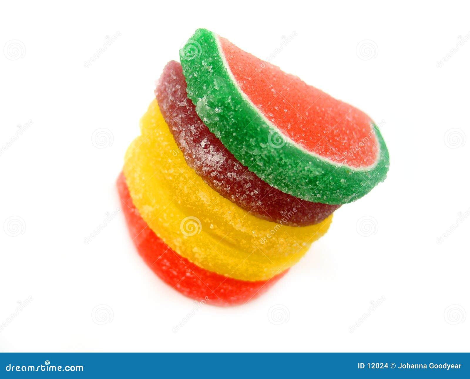 Fruit II van het suikergoed